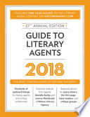 Guide To Literary Agents 2017 book