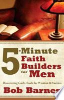 5 Minute Faith Builders for Men