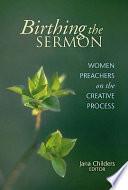 Birthing the Sermon