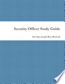 Security Officer Study Guide