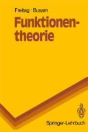Funktionentheorie