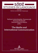 The Media and International Communication