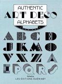 Authentic Art Deco Alphabets