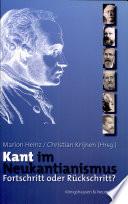 Kant im Neukantianismus