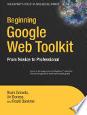 Beginning Google Web Toolkit