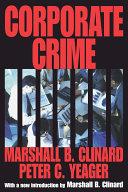 Corporate Crime Book