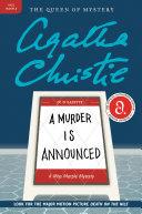 download ebook a murder is announced pdf epub