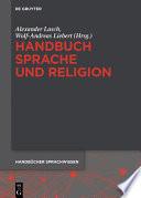 Handbuch Sprache und Religion