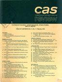 CAS Review