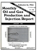 Monthly Oil And Gas Production And Injection Report