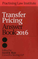 Transfer Pricing Answer