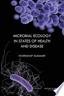 Microbial Ecology In States Of Health And Disease : health and survival. shaping and...