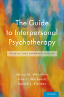 The Guide to Interpersonal Psychotherapy