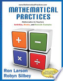 Mathematical Practices  Mathematics for Teachers  Activities  Models  and Real Life Examples