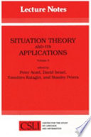 Situation Theory and Its Applications