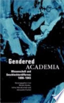 Academia's Gendered Fringe