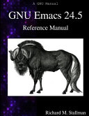 GNU Emacs 24 5 Reference Manual