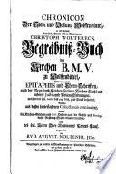Chronicon der Stadt und Vestung Wolffenbüttel
