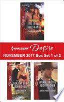 Harlequin Desire November 2017   Box Set 1 of 2