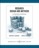 Research Design Methods 6e A Process Approach