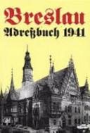 Breslauer Adressbuch für das Jahr 1941