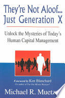 They re Not Aloof    Just Generation X