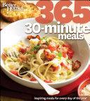 Better Homes   Gardens 365 30 Minute Meals