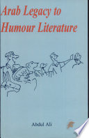 Arab Legacy to Humour Literature