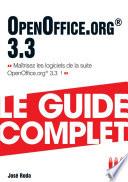 Openoffice 3 3