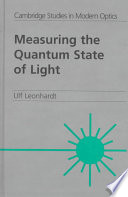 Measuring The Quantum State Of Light book