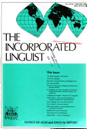 The Incorporated Linguist
