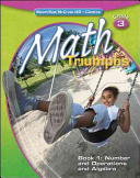 Math Triumphs  Grade 3  Student Study Guide  Book 1  Number and Operations and Algebra