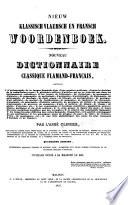 Nouveau dictionnaire classique français-flamand ...