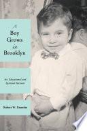A Boy Grows in Brooklyn Spiritual Memoir That Recounts Stories From Life