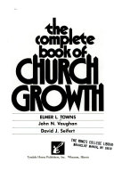 The Complete Book Of Church Growth
