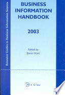 business information handbook 2003