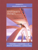 Student s Solution Manual for University Physics with Modern Physics Volume 1  Chs  1 20