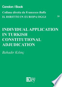 Individual application in Turkish constitutional adjudication