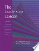 Leadership Lexicon