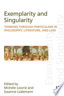 Exemplarity and Singularity