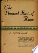 The Physical Basis of Rime