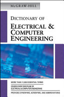 Mcgraw Hill Dictionary Of Electrical And Computer Engineering