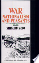 War Nationalism And Peasants