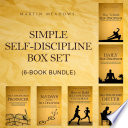 Simple Self Discipline Box Set 6 Book Bundle