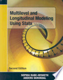 Multilevel and Longitudinal Modeling Using Stata  Second Edition