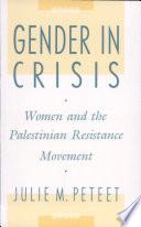 Gender in Crisis