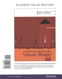 Introduction to Programming Using Visual Basic  Student Value Edition