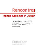 Rencontres French Grammar in Action