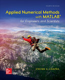 Loose Leaf For Applied Numerical Methods With Matlab For Engineers And Scientists