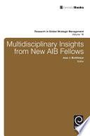Multidisciplinary Insights from New AIB Fellows